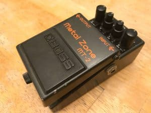 Boss Metal Zone Mt-2 Distortion pedal